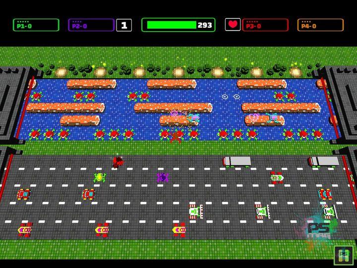 arcade développé par zombie studios frogger hyper arcade edition est