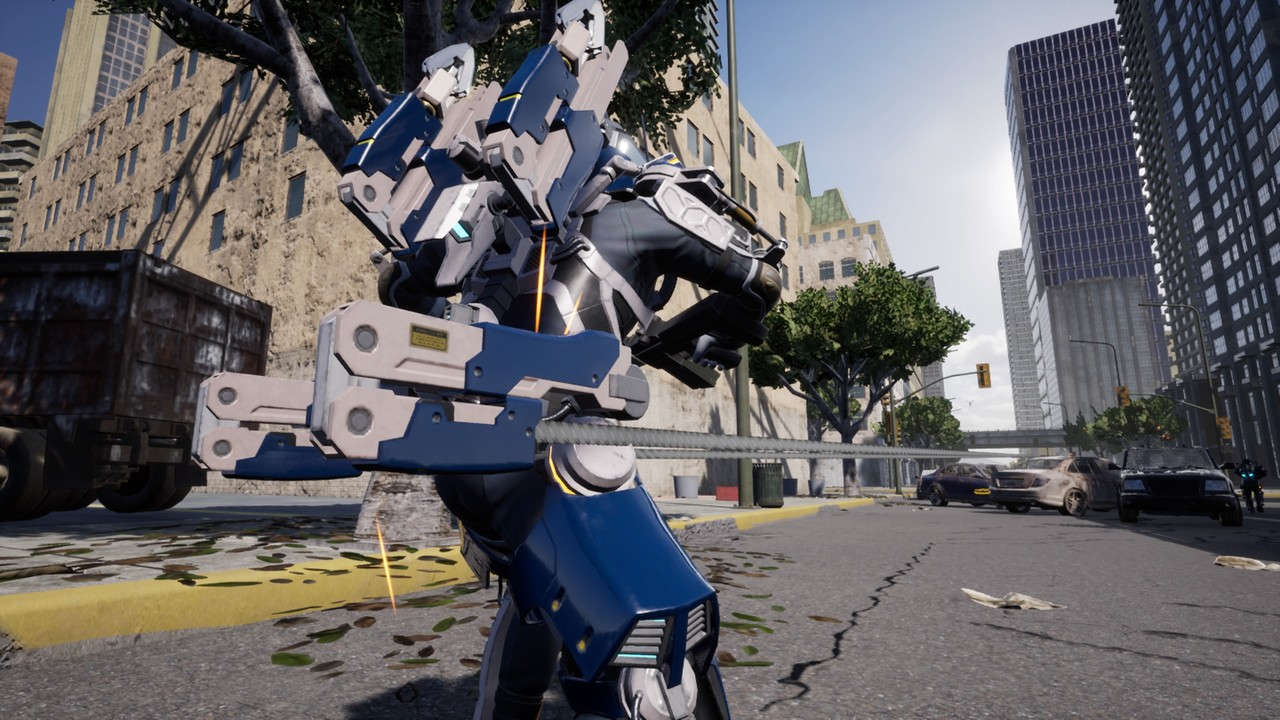 test de Earth Defense Force: Iron Rain