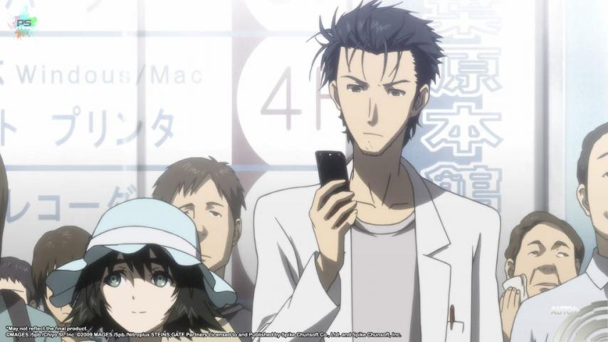 test de Steins;Gate Elite