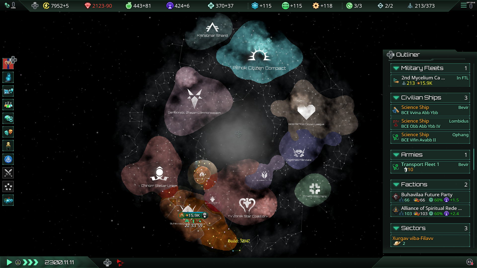 test de Stellaris: Console Edition